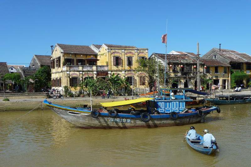 Download World Heritage Town Hoi An, Vietnam Editorial Stock Photo - Image of asia, ship: 14316058