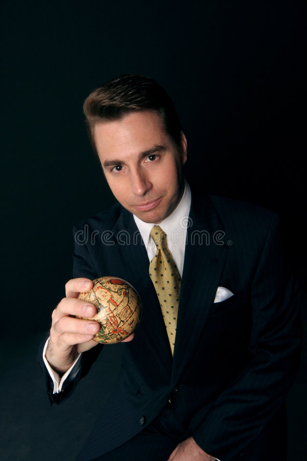 Download World in his hand stock image. Image of aspiration, communication - 3860371