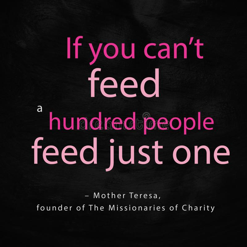 World Humanitarian Day QUOTES FROM FAMOUS HUMANITARIANS. World Humanitarian Day QUOTES FROM FAMOUS HUMANITARIAN Mother Teresa, Humanitarian people charity with royalty free stock photo