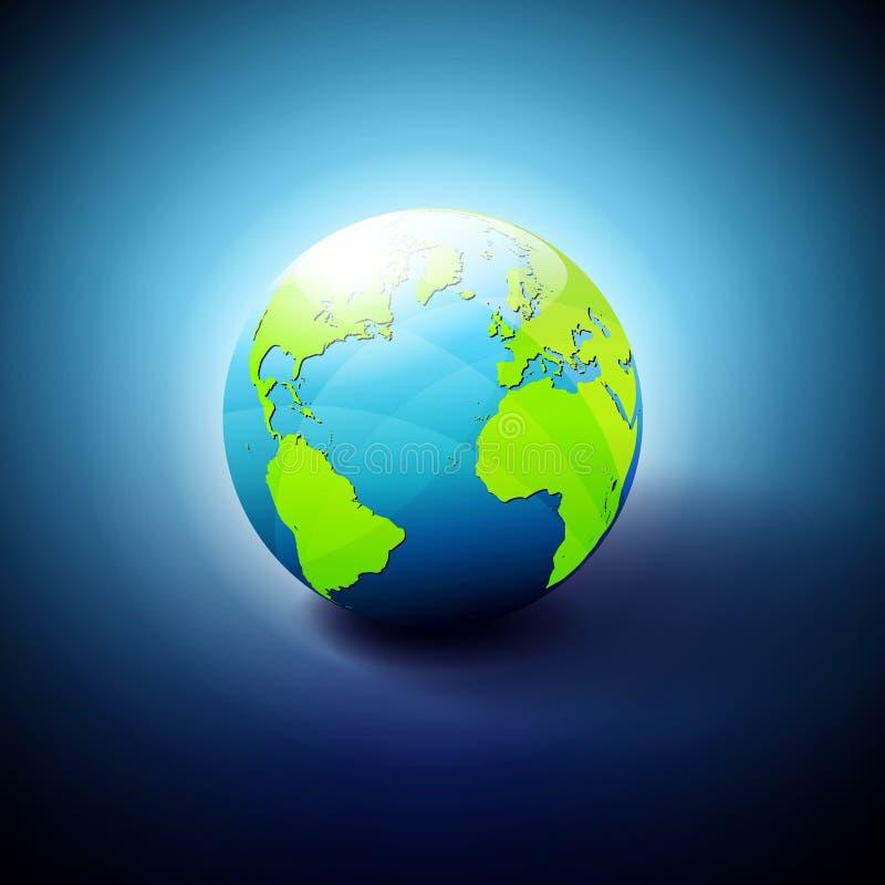 World Icon Symbol stock illustration