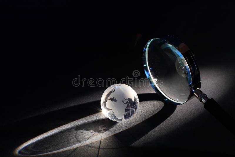 World Investigation Stock Images