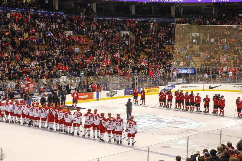 2015 World Junior Hockey Championships, Air Canada Center royalty free stock photography