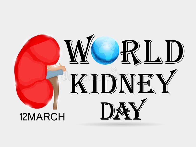 World Kidney Day. vector illustration