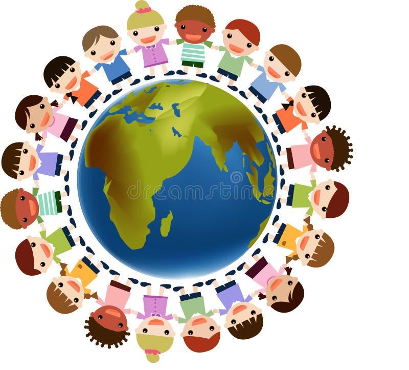 Download World kids stock vector. Illustration of children, asian - 6112068