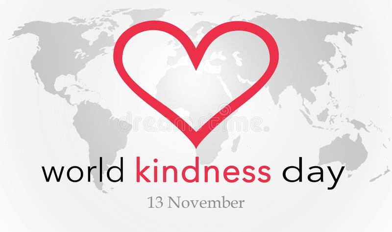 World kindness day stock photos