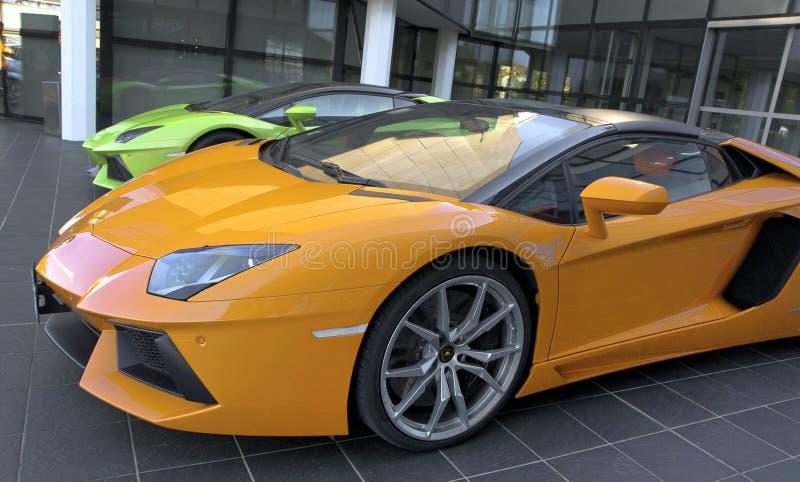The World of Lamborghini stock photo