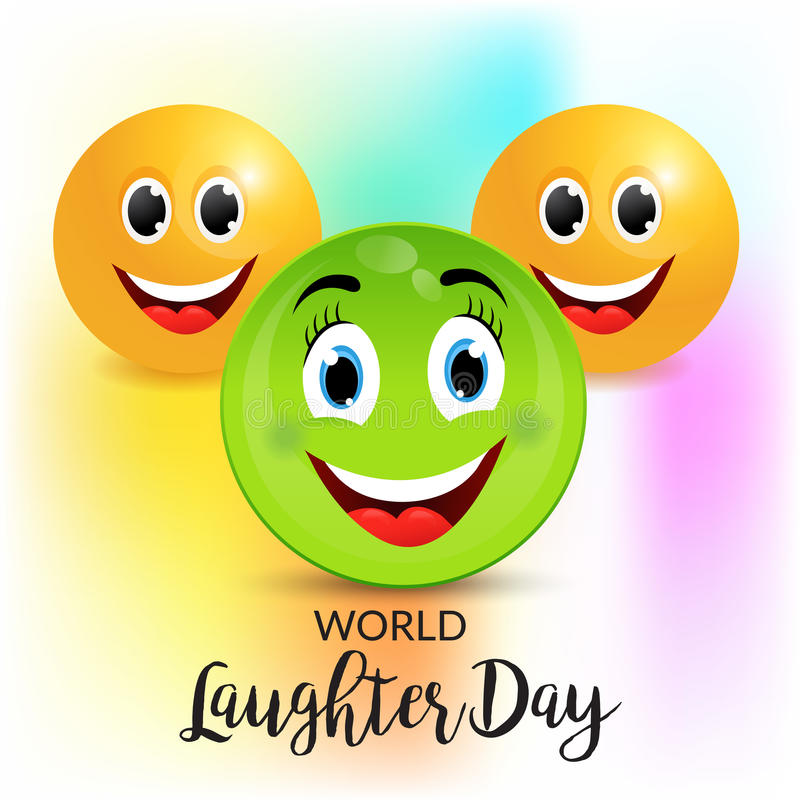 Free World Laughter Day. Stock Photography - 91494272