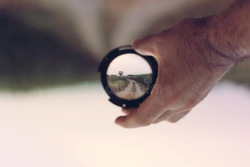 World Through Lens Free Public Domain Cc0 Image