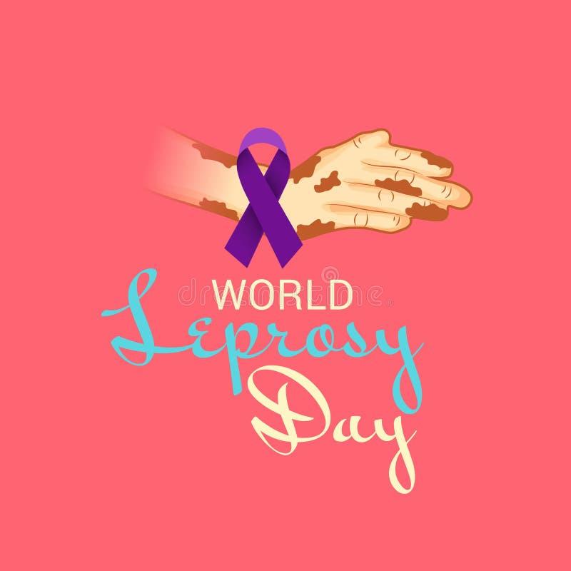 Free World Leprosy Day. Royalty Free Stock Images - 137601549