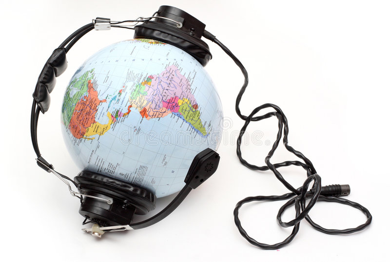 World Is Listening Stock Image