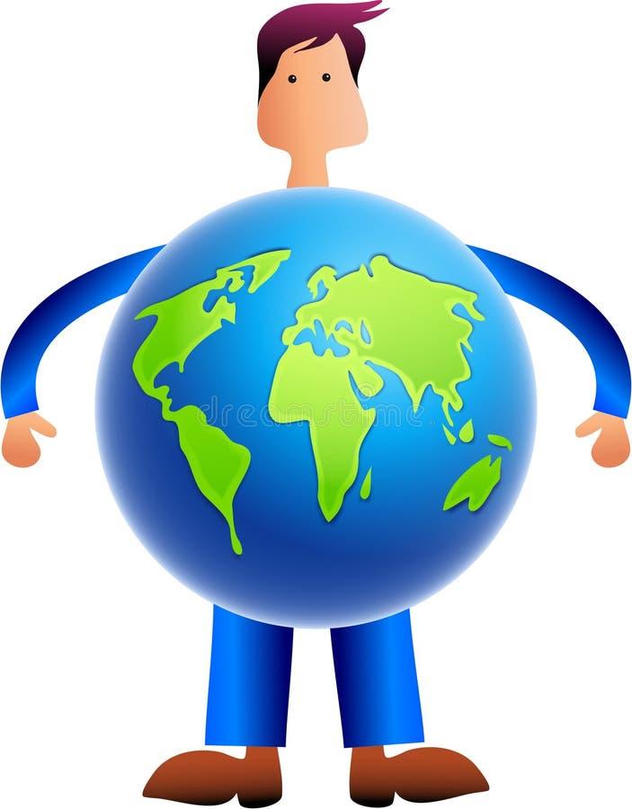 World Man vector illustration