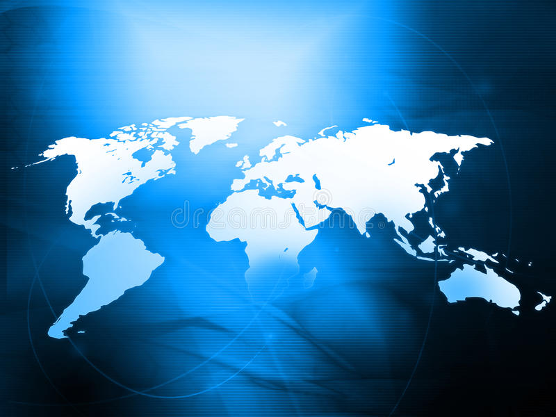 World map. (America,Europe,asia