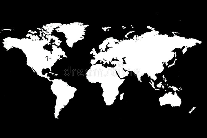 Download World Map stock illustration. Illustration of mexico, ground - 116257