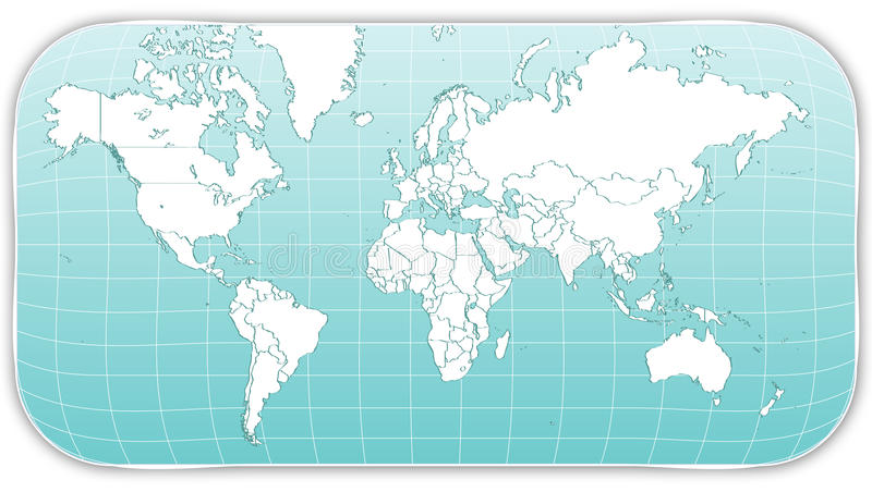Download WORLD MAP stock vector. Illustration of graphics, nation - 11772752