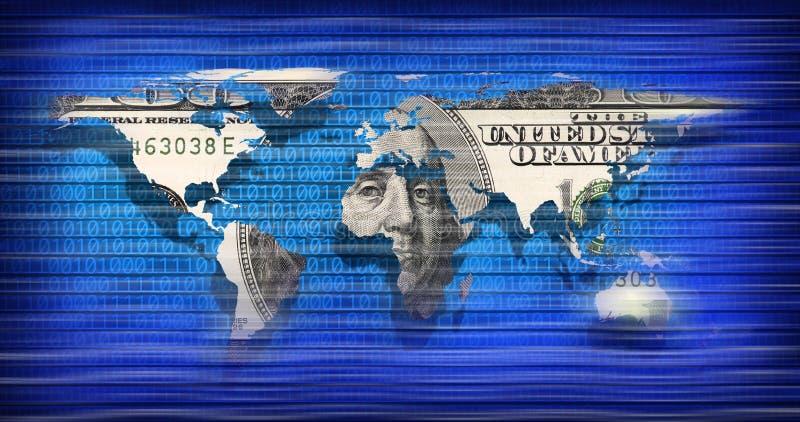 Download World map stock illustration. Image of code, idea, motivation - 12034665
