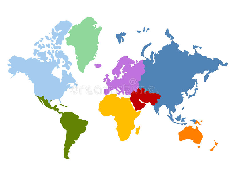Download World map stock vector. Image of geography, earth, world - 13690514