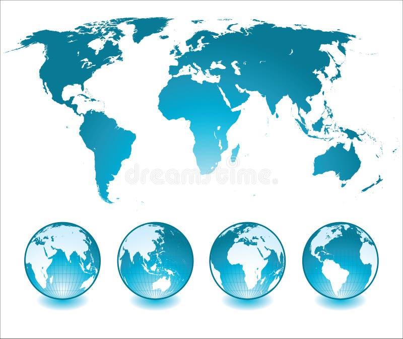 Download World map stock vector. Illustration of atlantic, digitally - 18006864