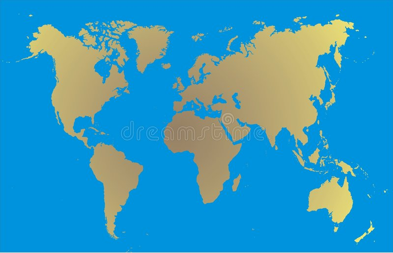 Download World map stock vector. Illustration of continental, background - 2096338
