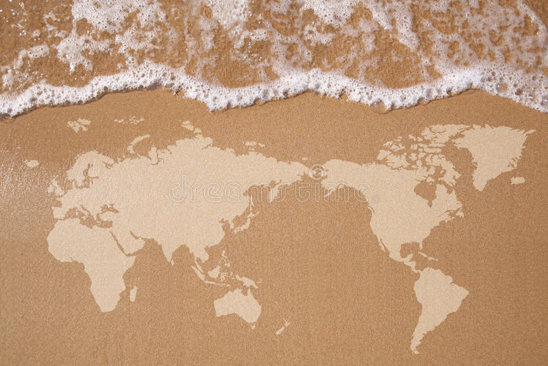 Download World Map stock image. Image of abstract, hemisphere - 25250069
