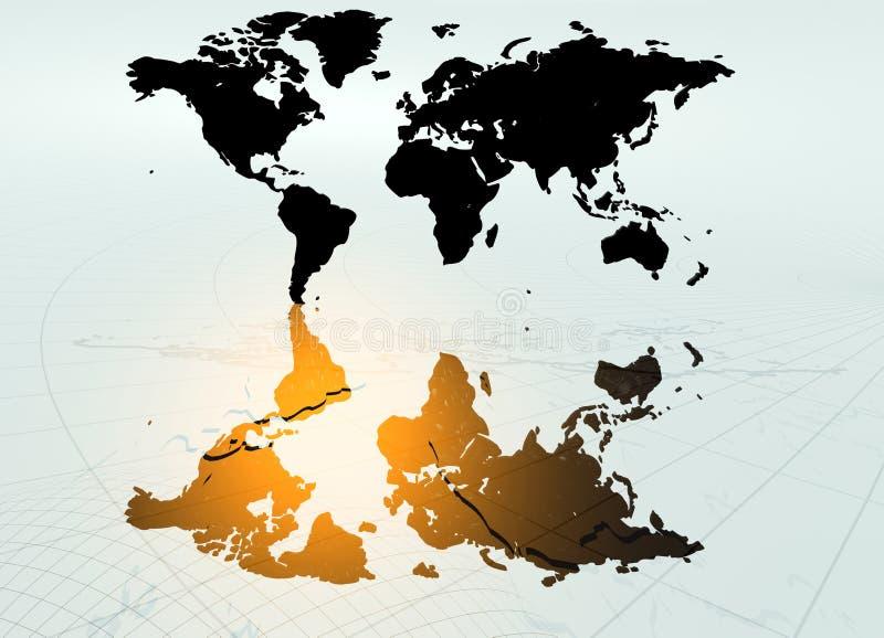Download World map stock illustration. Image of nation, south, global - 2649742