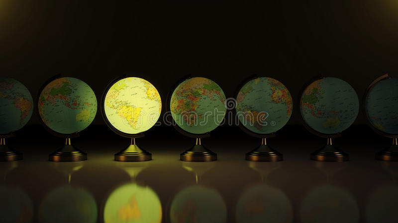 Download World map stock illustration. Illustration of abstract - 28723856