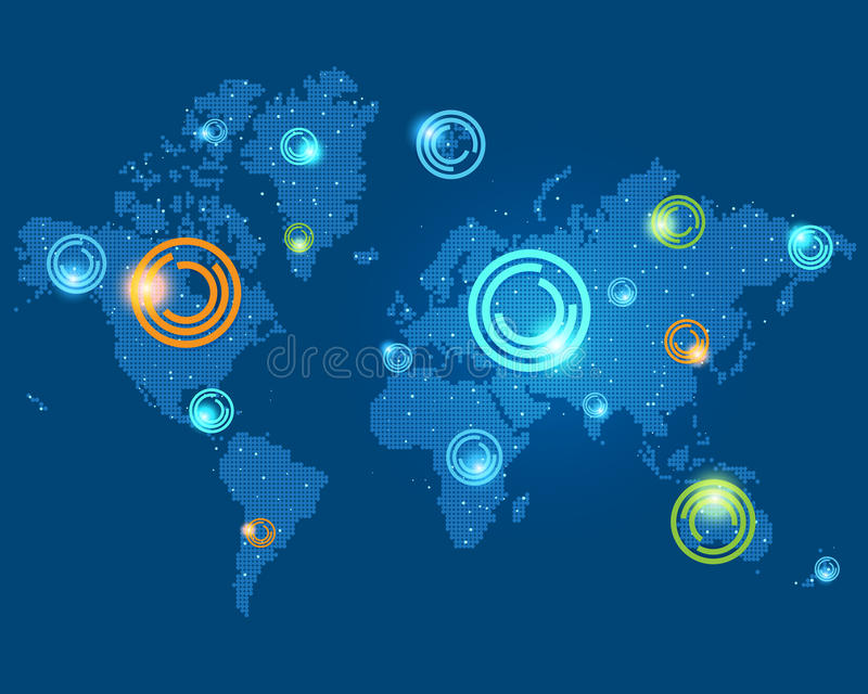 Download World map stock vector. Image of green, background, earth - 29060800