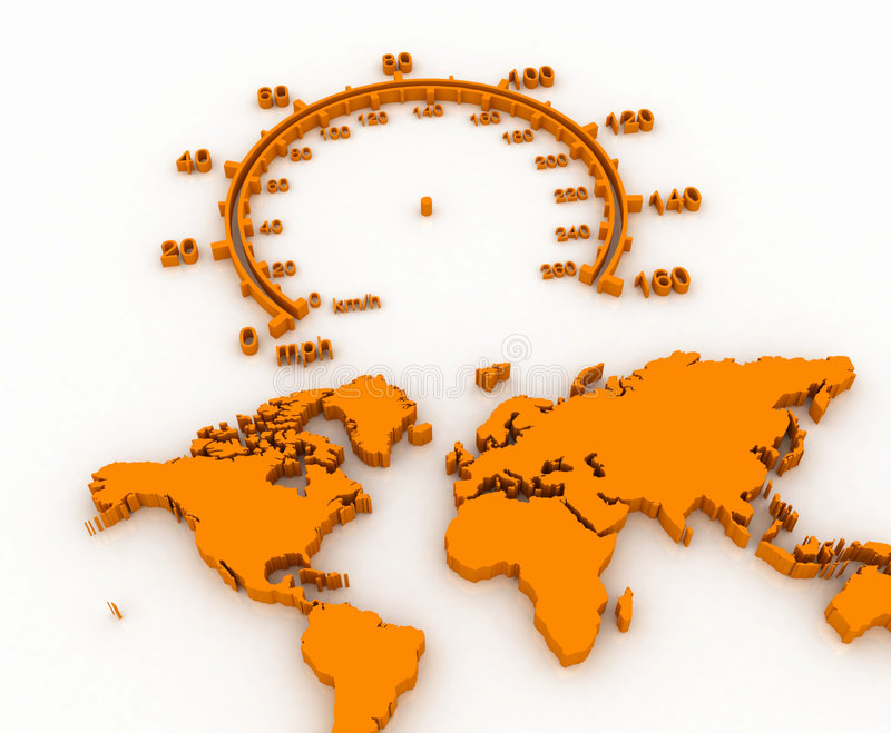 Download World Map Stock Photography - Image: 5025912