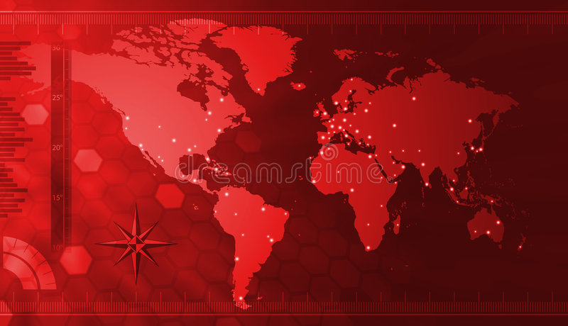 Download World map stock illustration. Illustration of space, states - 7431930