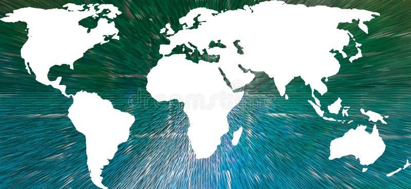 Download World Map stock illustration. Illustration of shapes, world - 7495040