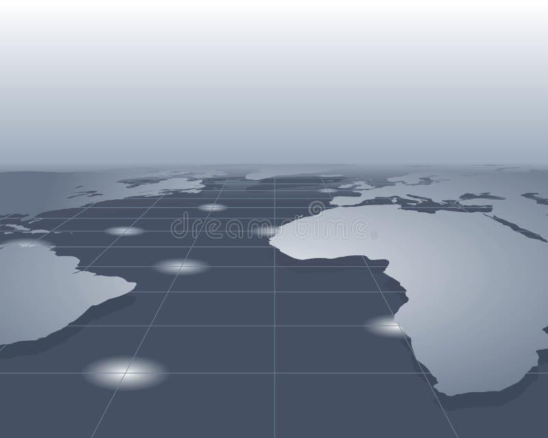 Download World map stock vector. Image of vector, trip, ocean, world - 9251497