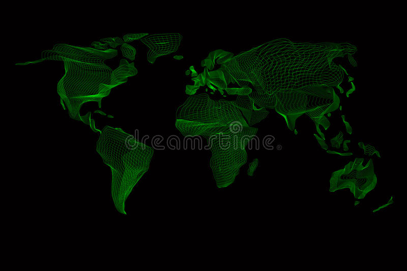 World map abstract vintage computer graphic of stock vector download world map abstract vintage computer graphic of stock vector illustration of europe gumiabroncs Gallery