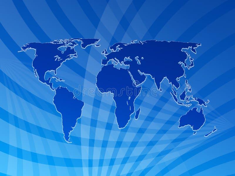 World map background 2 stock illustration