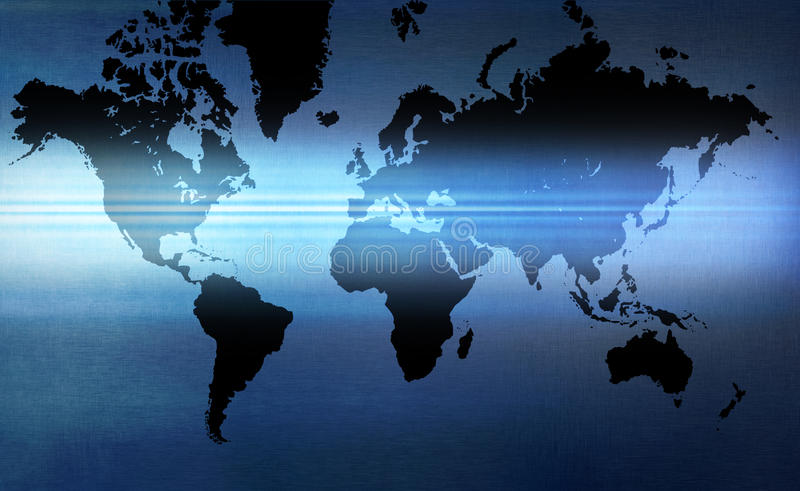 World Map Background stock photography