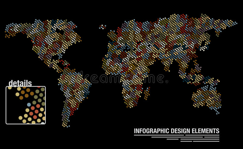 World map from circles stock vector illustration of cover 30406067 download world map from circles stock vector illustration of cover 30406067 gumiabroncs Image collections