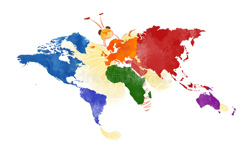 World map stock illustration illustration of internet 38743507 download world map stock illustration illustration of internet 38743507 gumiabroncs Choice Image