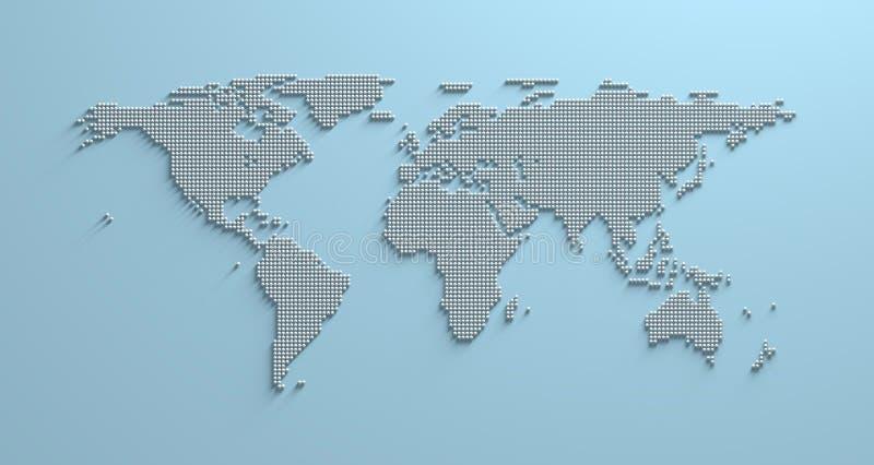 World map 3d stock illustration illustration of asia 96331089 download world map 3d stock illustration illustration of asia 96331089 gumiabroncs Images