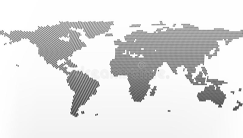 World map in dots little lines with gradient effect centre in new download world map in dots little lines with gradient effect centre in new york gumiabroncs Gallery