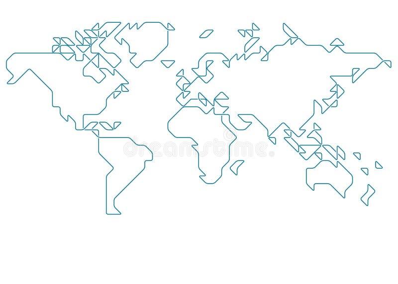 World map stock vector illustration of continents banner 53511772 download world map stock vector illustration of continents banner 53511772 gumiabroncs Images
