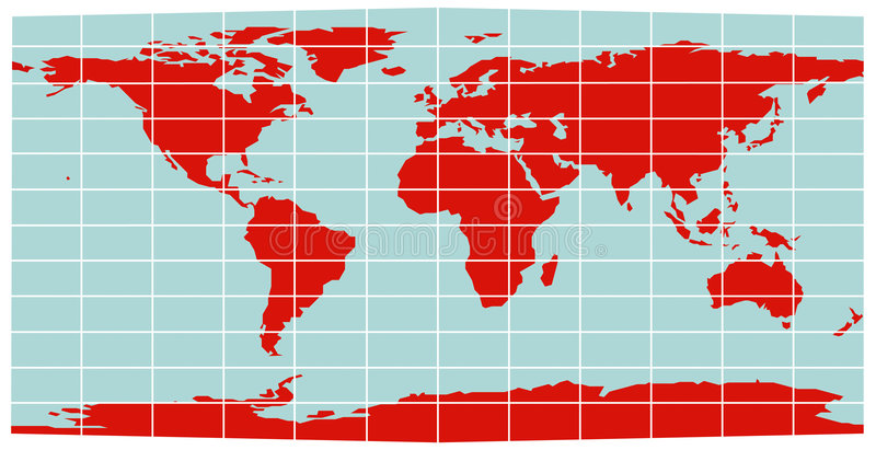 World map equirectangular grid stock vector illustration of download world map equirectangular grid stock vector illustration of australia background 7737976 gumiabroncs Images