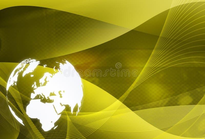 World map - Europe map royalty free illustration