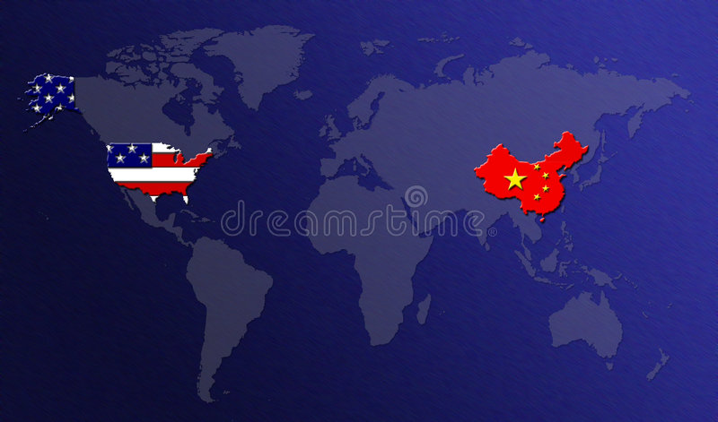 Download World Map with Flags stock illustration. Image of number - 86311