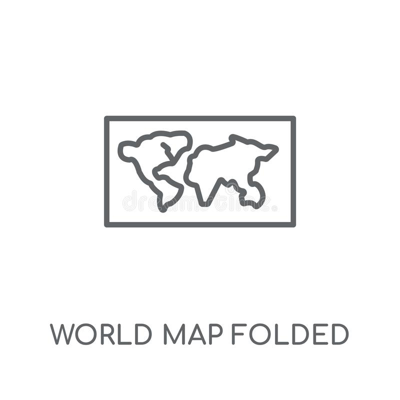 world map outline stock illustration  illustration of texture