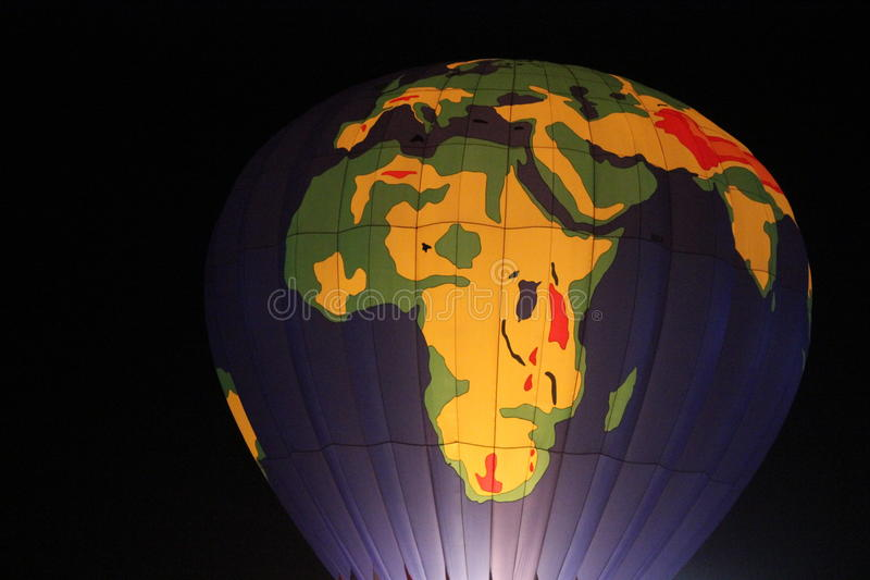 World map hot air balloon night time stock image image of time download world map hot air balloon night time stock image image of time carnival gumiabroncs Choice Image