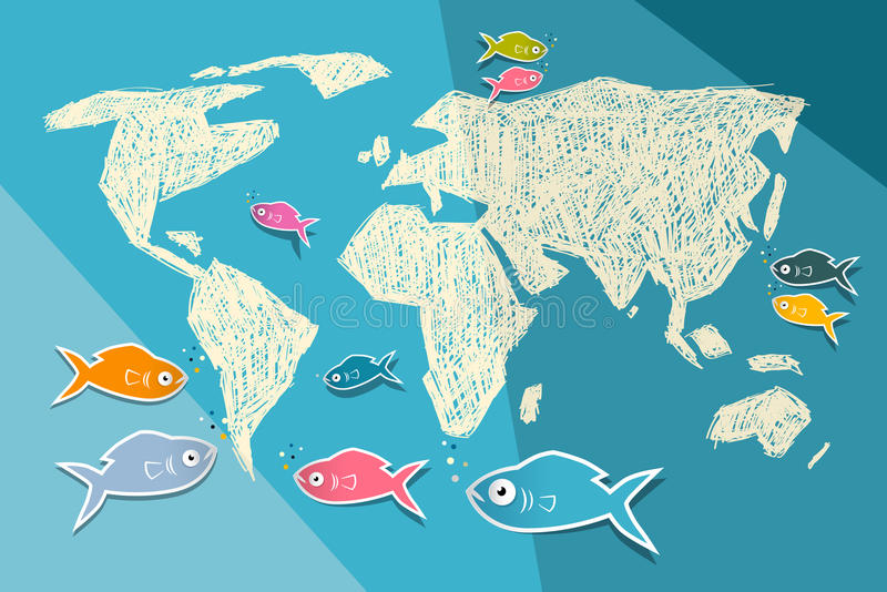 World map illustration stock vector illustration of colorful 38310853 download world map illustration stock vector illustration of colorful 38310853 gumiabroncs Choice Image