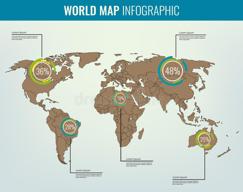 World map infographic template all countries are selectable vector download world map infographic template all countries are selectable vector stock illustration illustration gumiabroncs Image collections