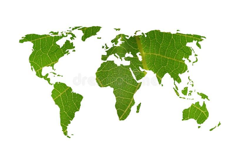 Download World map leaf stock illustration. Image of globe, illustration - 2935953
