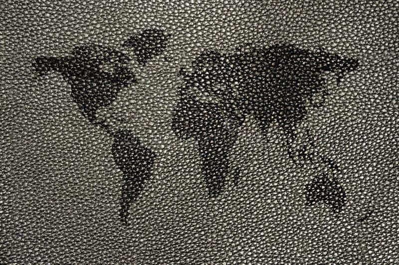 World map on leather background stock illustration illustration of download world map on leather background stock illustration illustration of square stylish 56352397 gumiabroncs Images