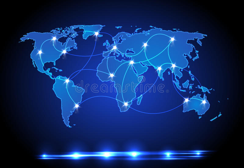 World map light design stock vector illustration of background download world map light design stock vector illustration of background 23173032 sciox Image collections
