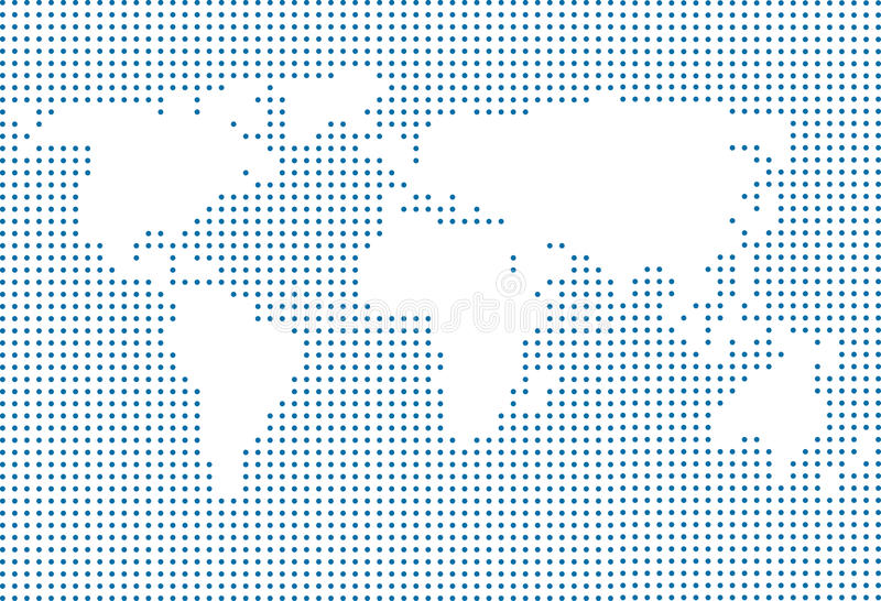World map made of dots stock illustration illustration of asia download world map made of dots stock illustration illustration of asia 34771993 gumiabroncs Choice Image
