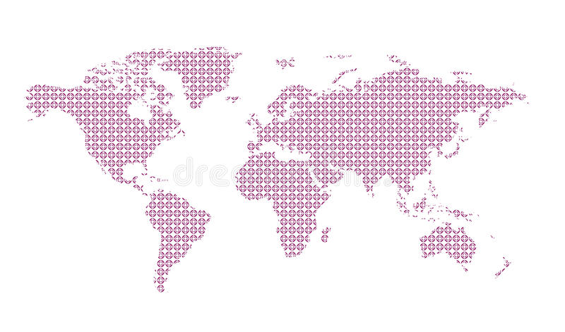 World map pattern background easy to change colors stock vector download world map pattern background easy to change colors stock vector illustration of gumiabroncs Images